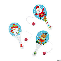 Winter Holiday Paddleball Games PDQ