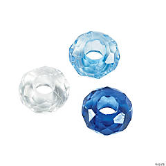 Winter Large Hole Beads - 14mm