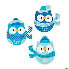 Winter Owl Magnet Craft Kit