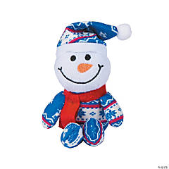 Winter Plush Snowmen