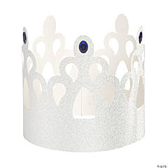 Winter Princess Crown Centerpiece