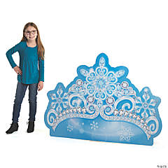 Winter Princess Crown Stand-Up