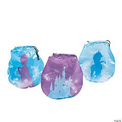 Winter Princess Drawstring Goody Bags