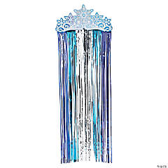 Winter Princess Fringe Door Curtain