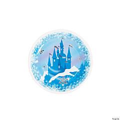 Winter Princess Paper Dessert Plates - 8 Ct.