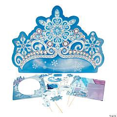 Winter Princess Photo Booth Kit