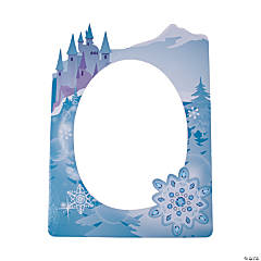Winter Princess Photo Frame Prop