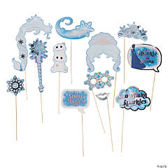 Winter Princess Photo Stick Props