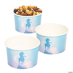 Winter Princess Snack Cups