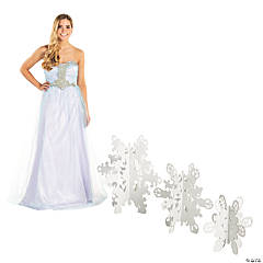 Winter Princess Snowflake Stand-Ups