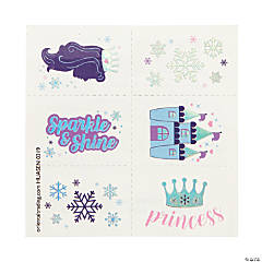 Winter Princess Sparkle Tattoos