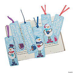 Winter Scented Bookmarks