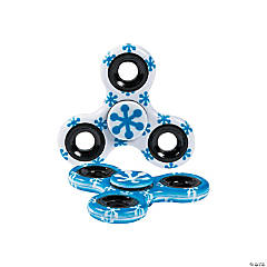 Winter Snowflake Fidget Spinners