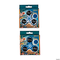 Winter Snowflake Fidget Spinners