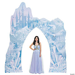 Winter Sparkle Castle Archway Stand-Up