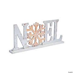 Winter Wonderland Noel Tabletop Sign
