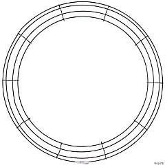 Wire Wreath Frame-24