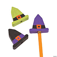 Witch Hat Pencil Top Erasers