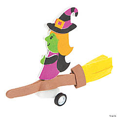 Witch Pull-Back Toy Craft Kit