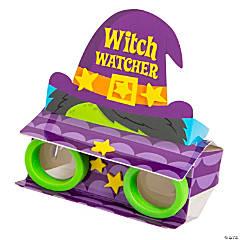 Witch Watcher Binoculars Craft Kit