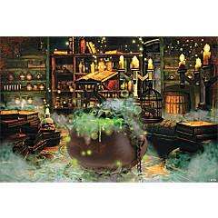 Witches' Kitchen Backdrop Banner Halloween Décor