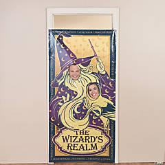Wizard Realm Photo Door Banner