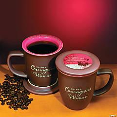 Woman of Courage Mug & Coaster