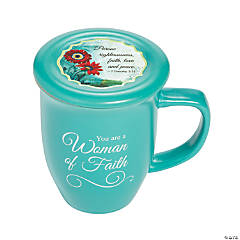 Woman of Faith Mug & Coaster