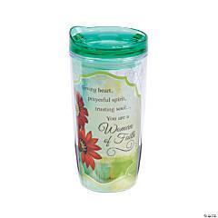 Woman of Faith Travel Mug