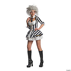 Women's Beetlejuice Costume - Extra Small