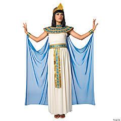 womens blue white cleopatra costume