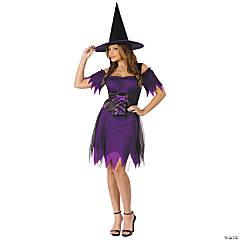 Women's Dark Witch Costume - Medium/Large