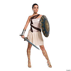Women's Deluxe Beach Battle Wonder Woman Costume - Medium