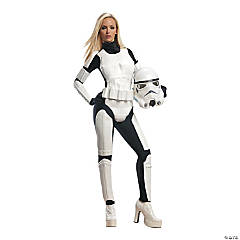 Women's Deluxe Star Wars™ Stormtrooper Costume - Small