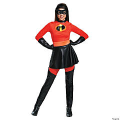 Women's Deluxe The Incredibles™ Mrs. Incredible Costume with Skirt