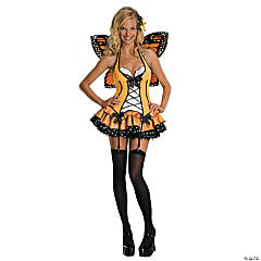 Women's Fantasy Butterfly Costume - Extra Small