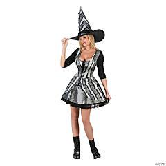 Women's Goth Rose Witch Costume - Small/Medium