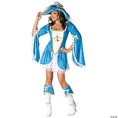 Women's Madam Musketeer Costume - Small/Medium