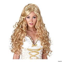 Women's Mythic Goddess Blonde Costume Wig