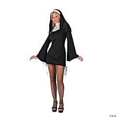 Women's Naughty Nun Costume - Small/Medium