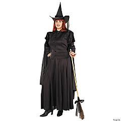 Women's Plus Size Classic Witch Costume - XXL