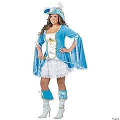Women's Plus Size Madam Musketeer Costume - XXL