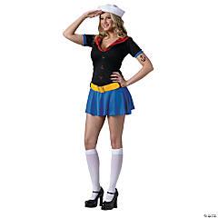 Women's Sexy Popeye Costume