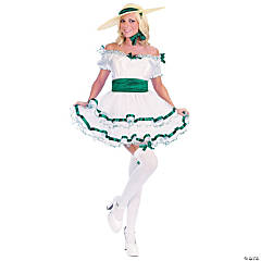 Women's Sexy Southern Belle Costume - Small/Medium