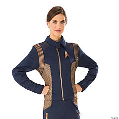 Women's Star Trek: Discovery™ Copper Operations Uniform Costume - Small