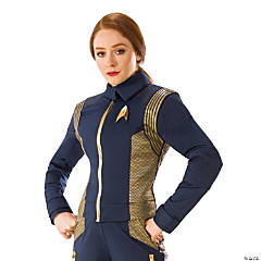 Women's Star Trek: Discovery™ Gold Command Uniform Costume - Large