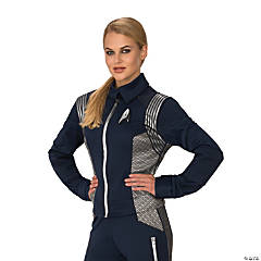Women's Star Trek: Discovery™ Silver Science Uniform Costume - Small