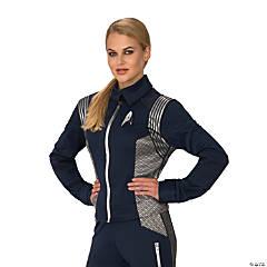 Women's Star Trek: Discovery™ Silver Science Uniform Costume - Standard