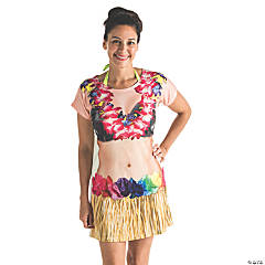Women's Sublimation Hula Dancer Costume