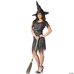 Women's Twilight Witch Costume - Medium
